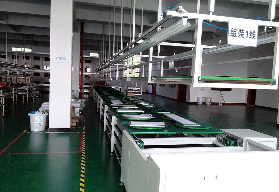 LED组装线