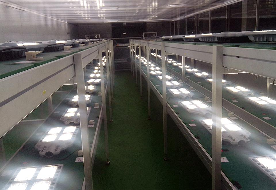 LED路灯老化线