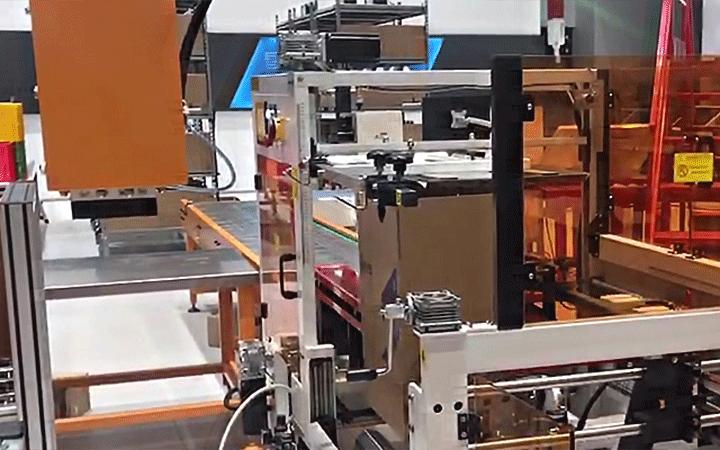 机器人智能包装系统