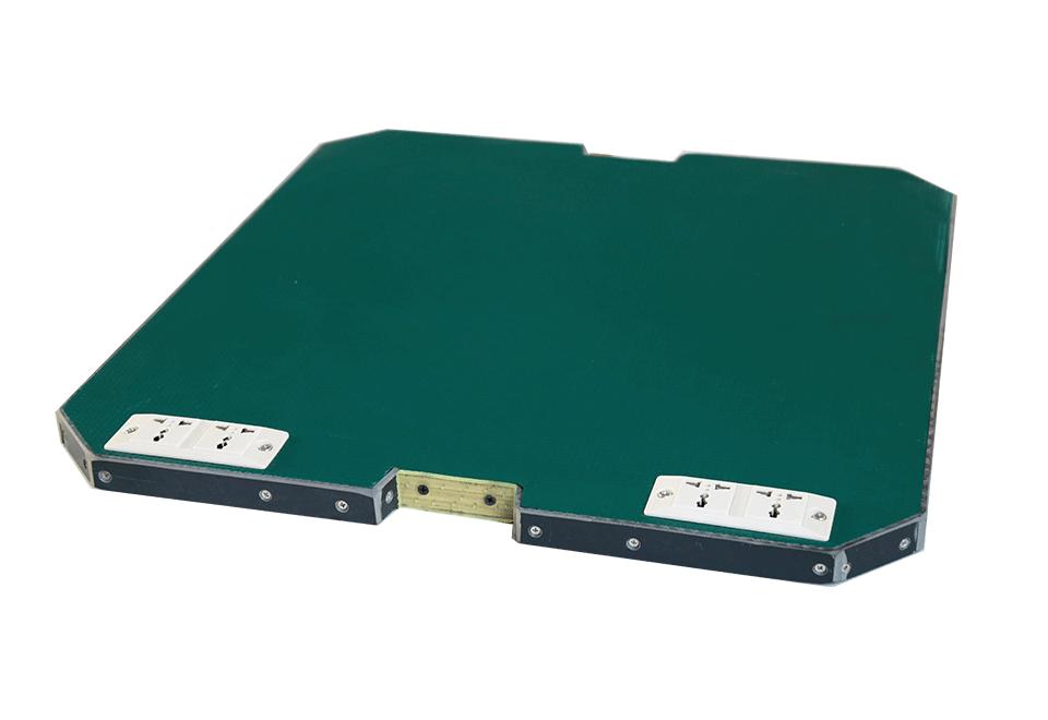 带插座PVC单层工装板