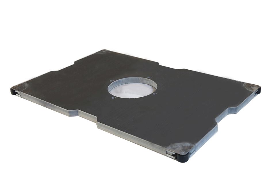 带侧导轮PVC工装板