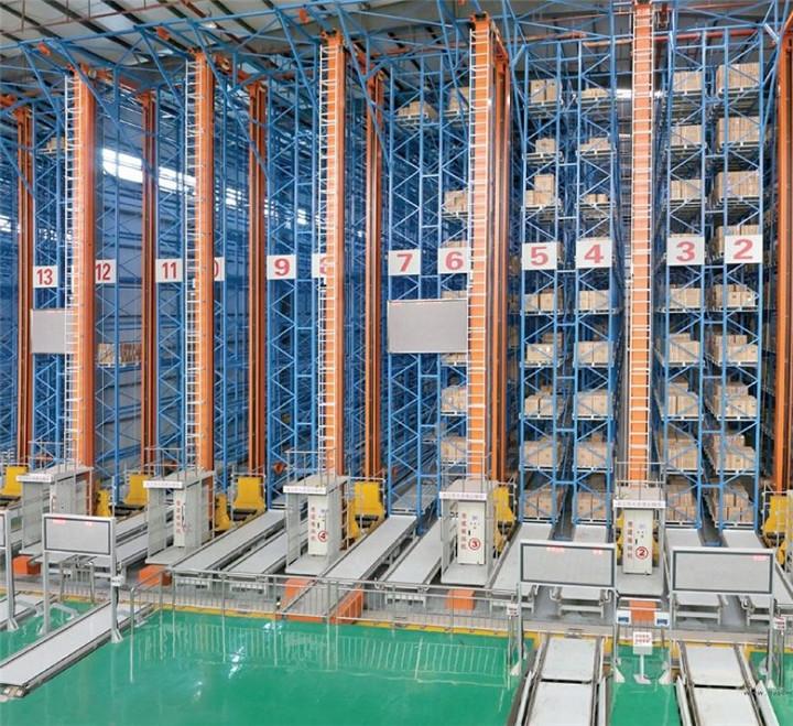 自动化立体仓库分类