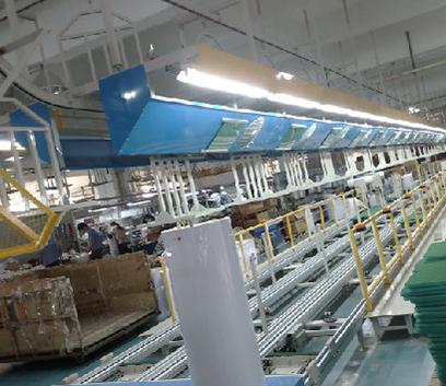 热水器生产线