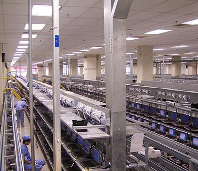 笔记本电脑自动化生产线