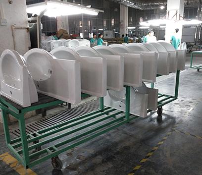 柜盆生产线
